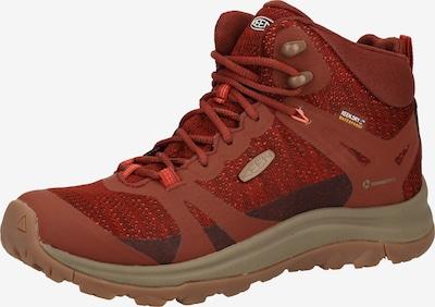 KEEN Wanderschuhe in beige / rot, Produktansicht