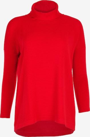 HELMIDGE Sweater in Red
