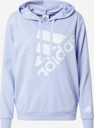 ADIDAS PERFORMANCE Sportsweatshirt in flieder / weiß, Produktansicht