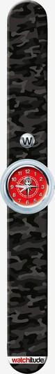 watchitude Armbanduhr in beige / braun / schwarz, Produktansicht