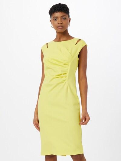 APART Jerseykleid in gelb, Modelansicht