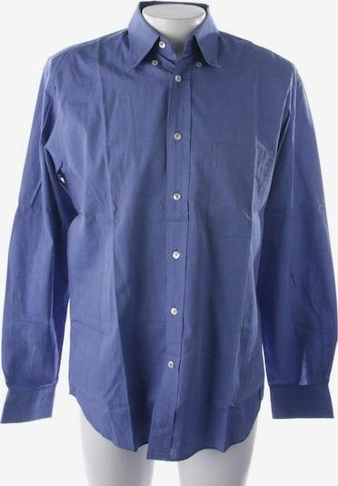 Van Laack Freizeithemd in M in blaumeliert, Produktansicht