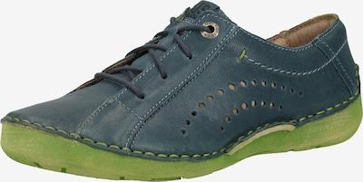 JOSEF SEIBEL Sneaker in blau / hellgrün, Produktansicht
