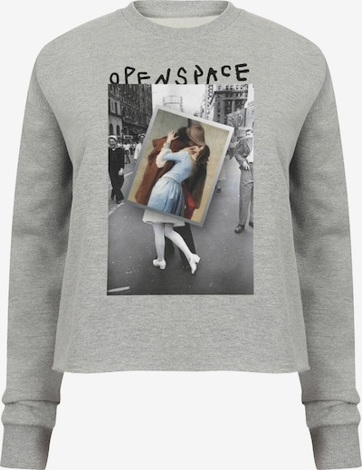 Openspace Sweatshirt in grau, Produktansicht