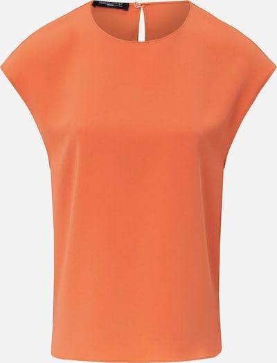 Fadenmeister Berlin Kurzarmbluse Blusen-Shirt zum Schlupfen in orange, Produktansicht