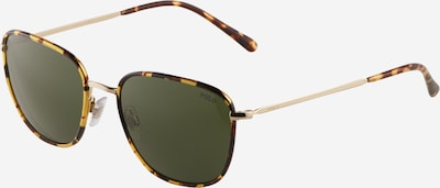 POLO RALPH LAUREN Sunčane naočale '0PH3134' u smeđa / konjak / zlatna / tamno zelena, Pregled proizvoda