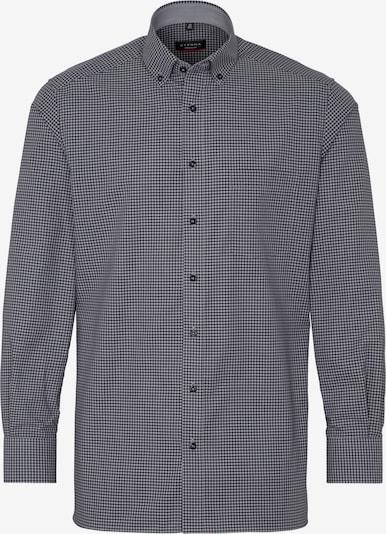 ETERNA Zakelijk overhemd in de kleur Donkerblauw / Wit, Productweergave