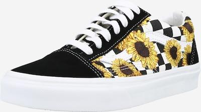 VANS Sneakers laag 'Old Skool' in de kleur Bruin / Geel / Zwart / Wit, Productweergave