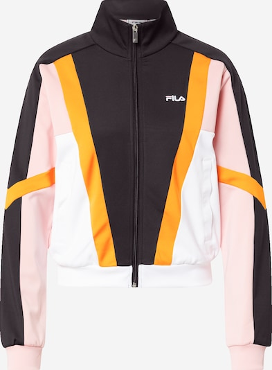 FILA Sweatjacka 'ALKAS' i orange / rosa / svart / vit, Produktvy
