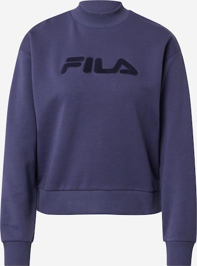 FILA Sweatshirt 'FAUNA' in de kleur Indigo / Zwart, Productweergave