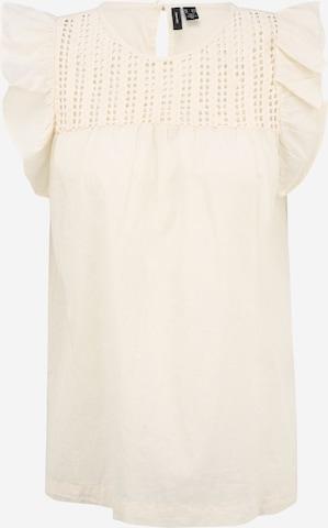 Vero Moda Tall Bluse 'LORETTA' i beige