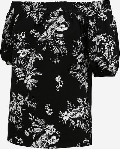 Dorothy Perkins Majica 'SHIRED BARDO' | črna / bela barva, Prikaz izdelka