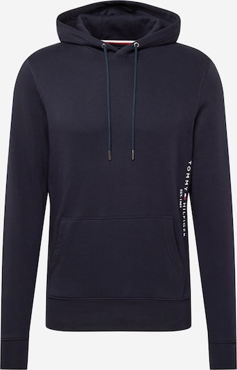 TOMMY HILFIGER Sweatshirt in de kleur Nachtblauw / Wit, Productweergave