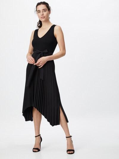 GUESS Robe en noir, Vue avec modèle