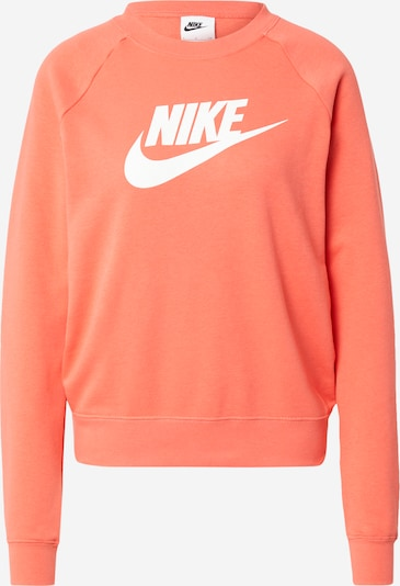 Nike Sportswear Sweater majica u koraljna / bijela, Pregled proizvoda