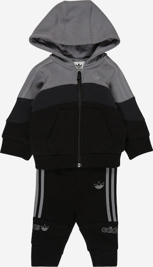 ADIDAS ORIGINALS Jogginganzug in grau / anthrazit / schwarz, Produktansicht