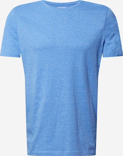 Lindbergh Тениска 'Mouliné' в синьо меланж: Изглед отпред