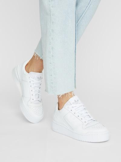 ADIDAS ORIGINALS Sneaker 'Forum Bold' in weiß: Frontalansicht