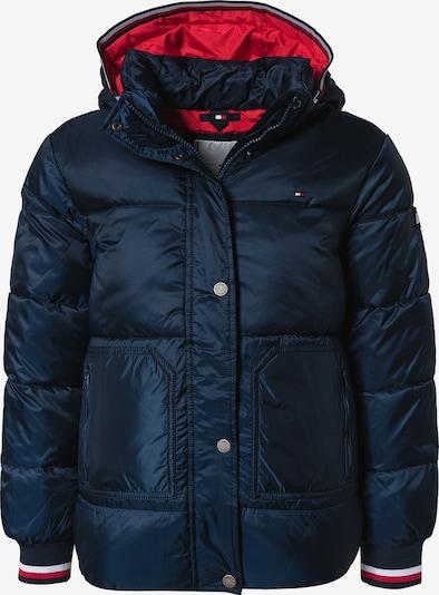 TOMMY HILFIGER Jacke in nachtblau / rot, Produktansicht