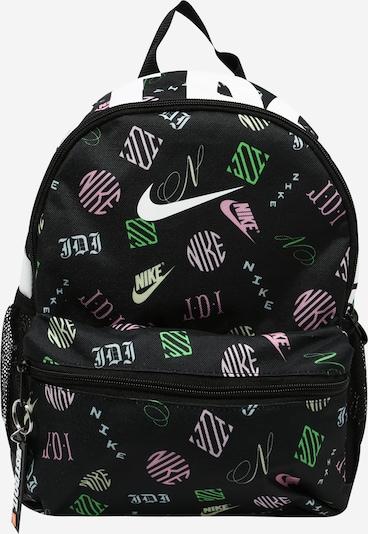Nike Sportswear Backpack 'Brasilia' in Light yellow / Lime / Pink / Black / White, Item view