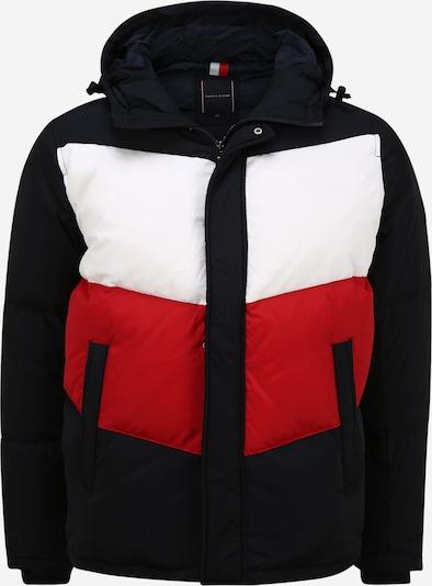 TOMMY HILFIGER Winterjas in de kleur Nachtblauw / Rood / Wit, Productweergave