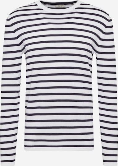ESPRIT Пуловер в нощно синьо / бяло, Преглед на продукта