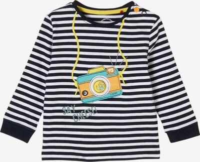 s.Oliver Shirt in de kleur Blauw / Geel / Wit, Productweergave