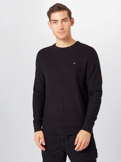 Megztinis 'HONEYCOMB' iš TOMMY HILFIGER , spalva - juoda, Modelio vaizdas