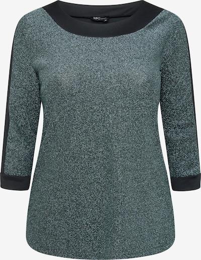 SPGWOMAN Rundhalsshirt in grün, Produktansicht