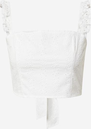 HOLLISTER Bluse in weiß, Produktansicht