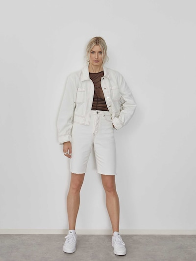 Džinsai 'Marianna' iš LeGer by Lena Gercke , spalva - balta, Modelio vaizdas