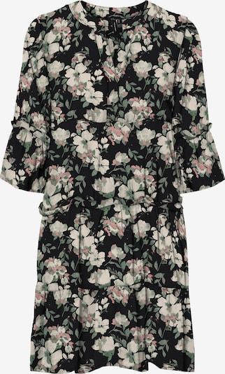 VERO MODA Kleid 'Ines' in grün / rosa / schwarz, Produktansicht
