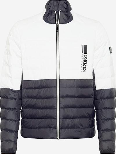 BOSS ATHLEISURE Zimska jakna 'Basalt' | črna / bela barva, Prikaz izdelka