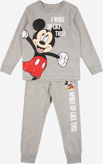 Miego kostiumas 'Mickey Mouse' iš NAME IT , spalva - margai pilka / raudona / juoda / balta, Prekių apžvalga