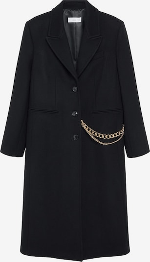 Palton de primăvară-toamnă 'Dandy' MANGO pe negru, Vizualizare produs
