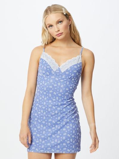 SHYX Kleid 'Raven' in hellblau / weiß, Modelansicht