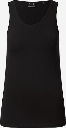 4F Sporta tērpa augšdaļa melns, Preces skats