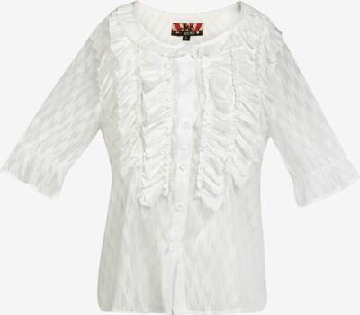 myMo ROCKS Blouse in de kleur Wit, Productweergave