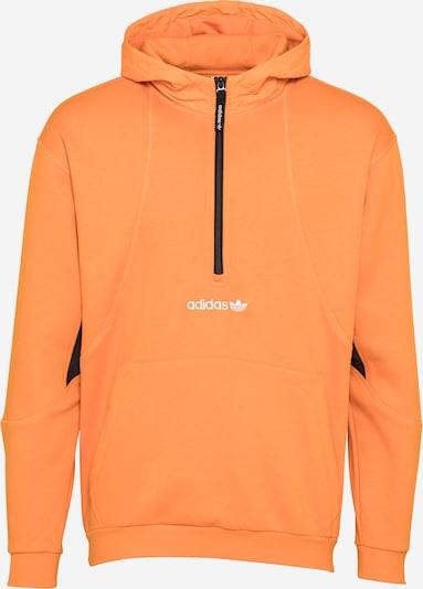 ADIDAS ORIGINALS Sweat-shirt en orange / noir / blanc, Vue avec produit