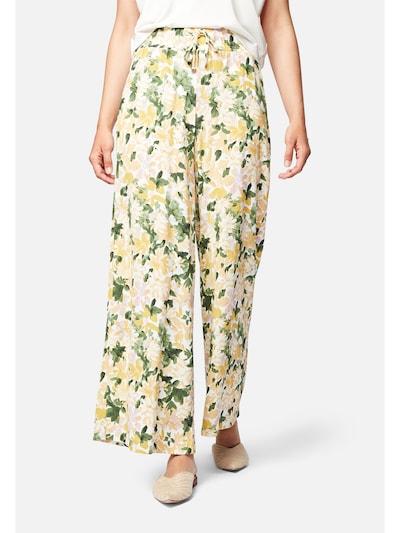 Mavi Hose 'DRAWSTRING' in gelb / grün / weiß, Modelansicht