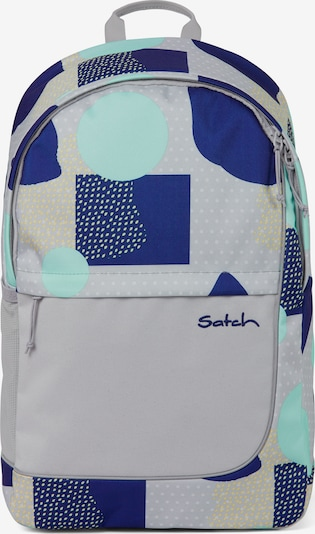 Satch Backpack in Blue / Yellow / Grey / Jade, Item view
