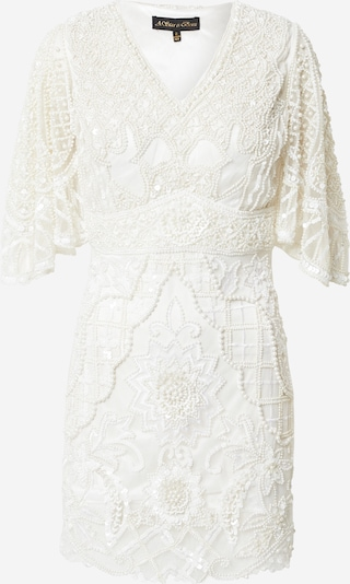 A STAR IS BORN Robe en blanc, Vue avec produit