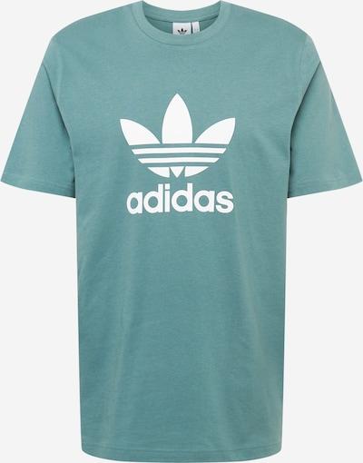 Tricou ADIDAS ORIGINALS pe verde jad / alb, Vizualizare produs
