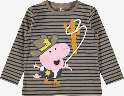 NAME IT Shirt 'Peppa Pig' in Taupe / Mixed colours / Black, Item view
