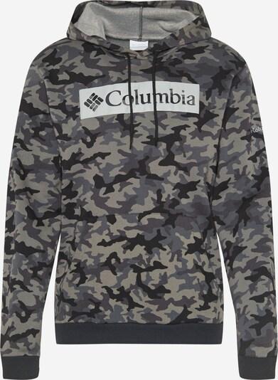 COLUMBIA Mikina - režná / světle šedá / tmavě šedá / černá, Produkt