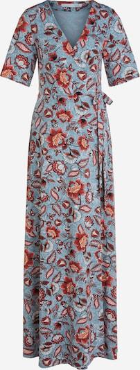 OUI Kleid in hellblau / orangerot, Produktansicht