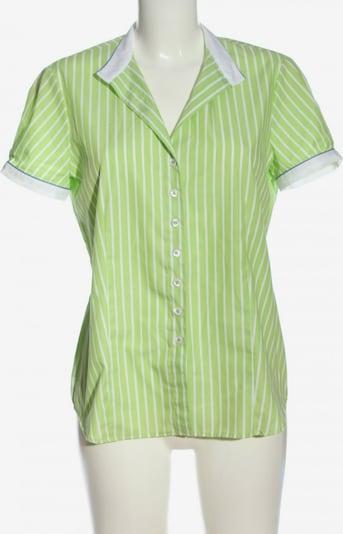 ETERNA Kurzarmhemd in M in grün / weiß, Produktansicht