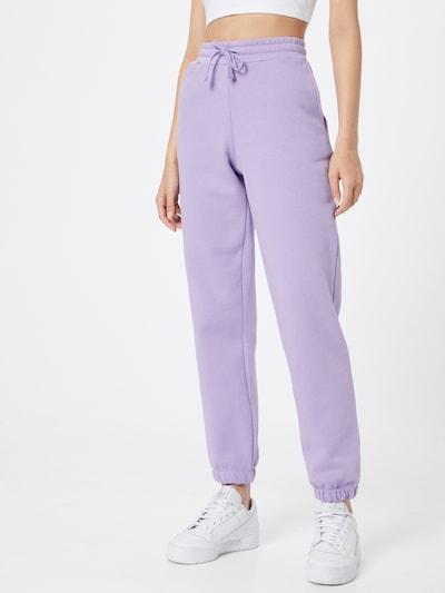 b.young Kalhoty - světle fialová, Model/ka