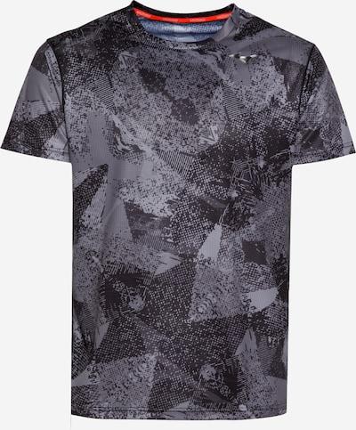 MIZUNO Funktionsshirt in grau / schwarz, Produktansicht