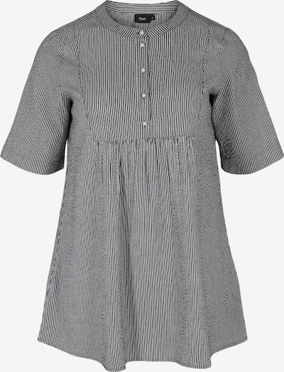 Zizzi Tunika 'Mlene' in schwarz / weiß, Produktansicht